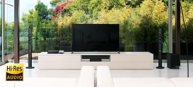 Изображение Домашний кинотеатр Blu-ray с поддержкой Bluetooth