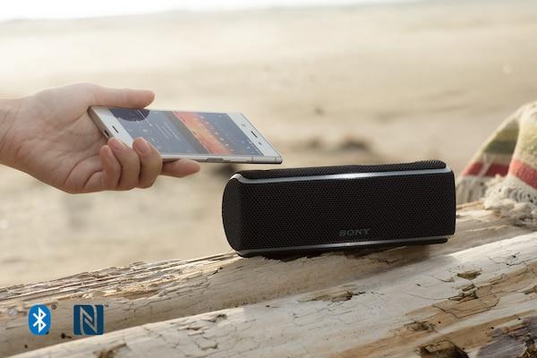 Подключение SRS-XB21 к смартфону