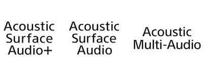 Логотипы Acoustic Surface Audio