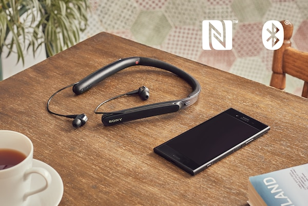 NFC и BLUETOOTH® на WI-1000X
